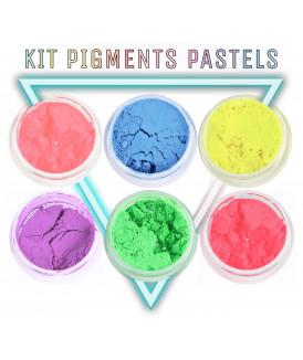Kit pigments Pastel